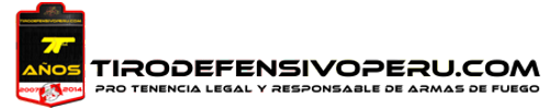 Tiro Defensivo Peru Logo