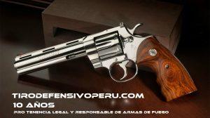 TIRO DEFENSIVO PERU - 10 AÑOS
